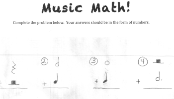 Another) Free Music Math worksheet! | PianoTeacherNOLA